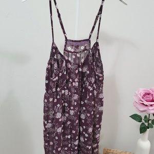 VICTORIA'S SECRET ANGELS Floral Sexy Pajamas Cami